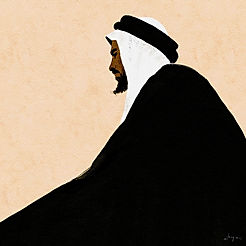 The Arab Sheikh | Digital Illustration Service | Procreate | by Alhyari Art
