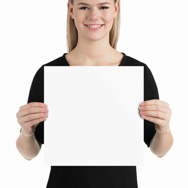 Premium Luster Photo Paper Poster - 12x12 inches - 30x30 centimeters
