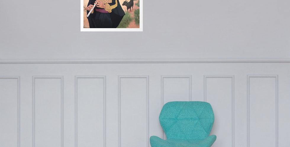 The Artist (Premium Luster Photo Paper Poster)