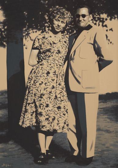 Babička a Dědeček | Digital Portrait Painting