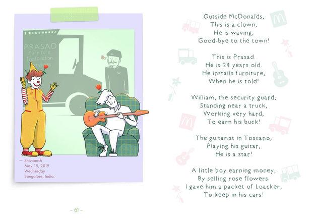 People | Digital Cartoon for a Children's Book