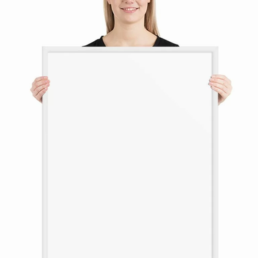 Premium Luster Photo Paper Framed Poster - 24x36 inches - 60x90 centimeters
