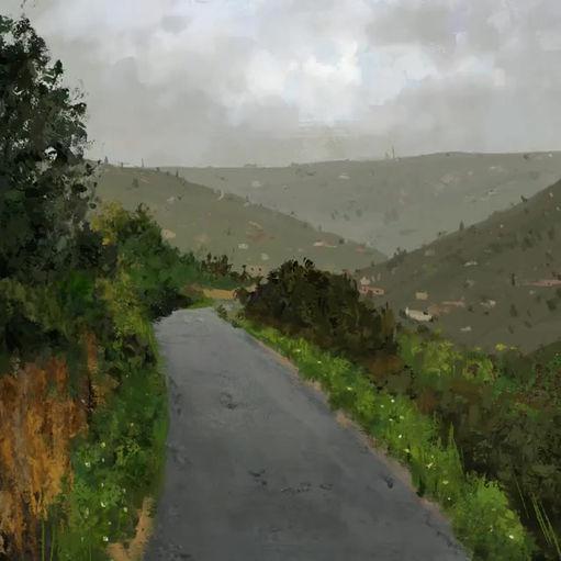 Journey | Narrative Digital Painting Time-lapse Video