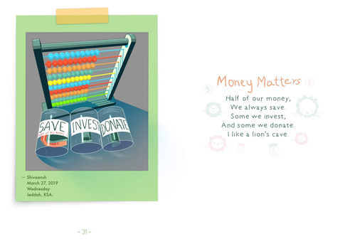 Money Matters | Digital Cartoon for a Children's Book