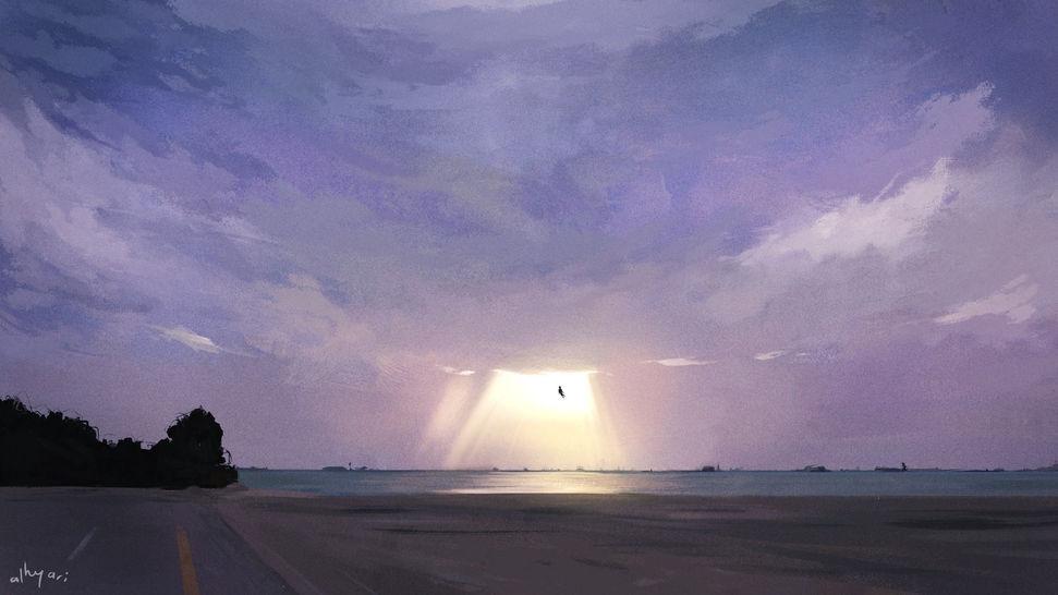 Birdman | Narrative Digital Painting