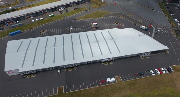 Hampton 4 Watertight Construction. Kingspan warm roof KS1000