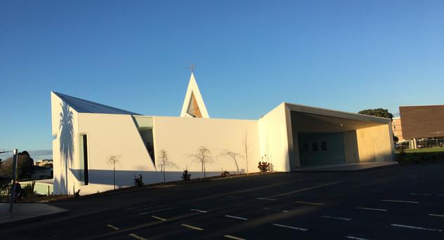 St Peters Chapel Eurotray Spanlok. Rooflogic Warm Roof 6