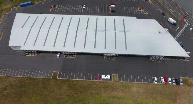 Hampton 3 Watertight Construction Kingspan warm roof KS1000
