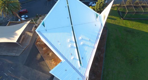 St Peters Chapel Eurotray Spanlok. Rooflogic Warm Roof 2
