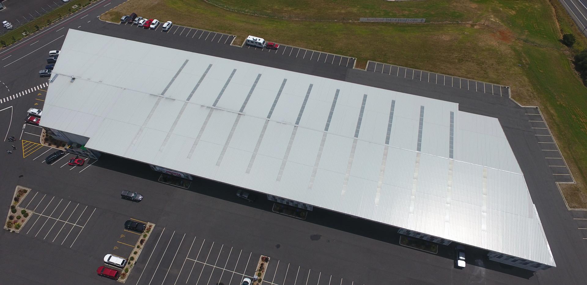 Hampton Downs 2 Watertight Construction Kingspan warm roof KS1000