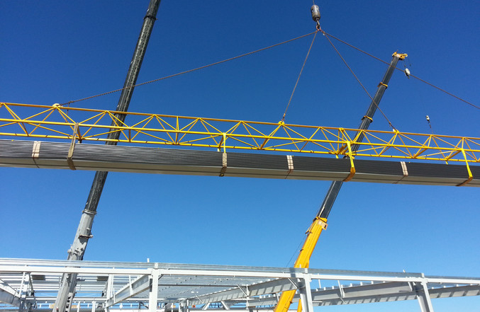 Water Tight Construction Crane