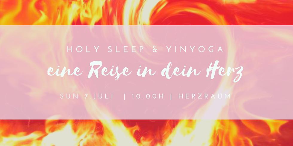 Holy Sleep & Yinyoga | eine Reise in dein Herz
