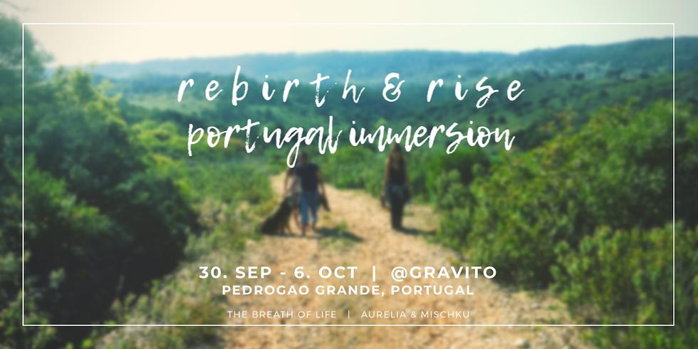 r e b i r t h  &  r i s e  | Portugal Immersion Retreat