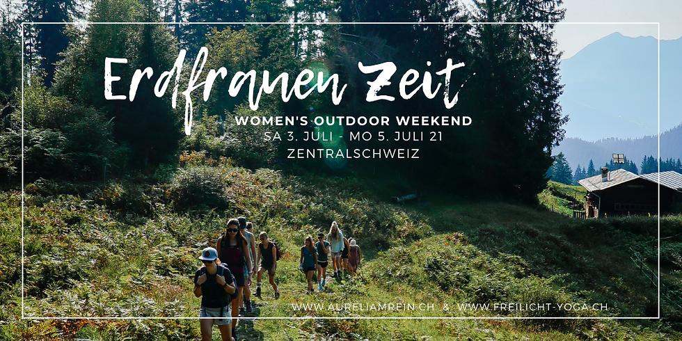 Erdfrauen Zeit Outdoor Weekend