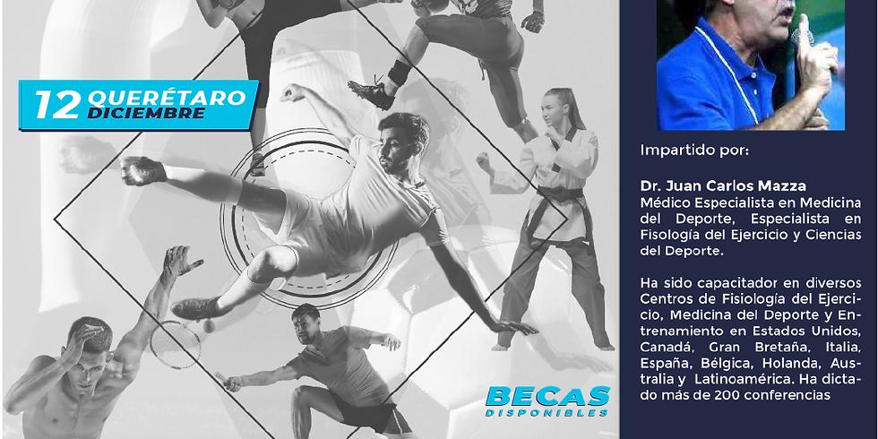 Querétaro-Seminario Internacional en Entrenamiento, Fisiología del Ejercicio, Ciencias del Deporte y Nutrición Deportiva