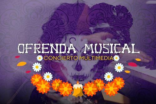 Ofrenda Musical- Concierto multimediapara violín y piano