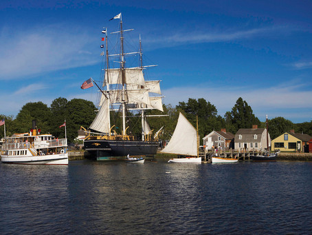 Mystic Seaport Museum to Reopen to the Public May 23 - Free Admission May 23-29