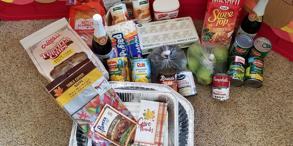 Thanksgiving Dinner donation