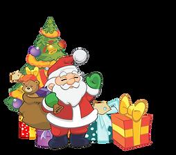 Santa and Tree All Items.png