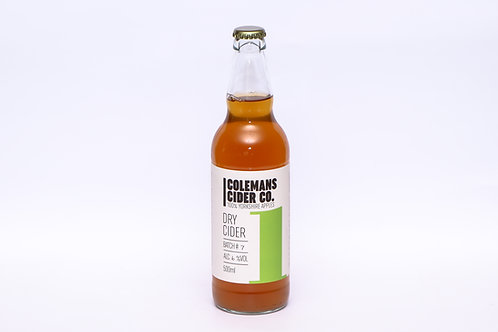 Colemans Yorkshire Dry Cider 500ml