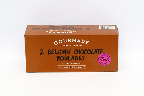 Gourmade 2 Belgian Chocolate Roulade 200g - Serves 2