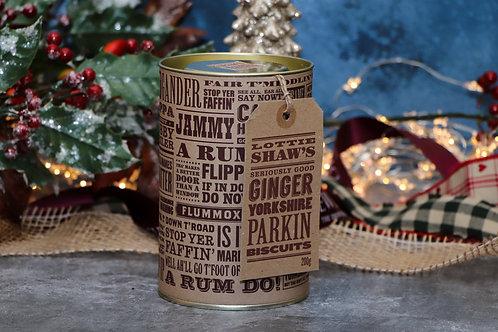Lottie Shaw's Ginger Yorkshire Parkin Biscuit Tin