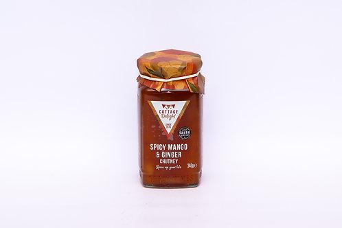 Cottage Delight Spiced Mango & Ginger Chutney