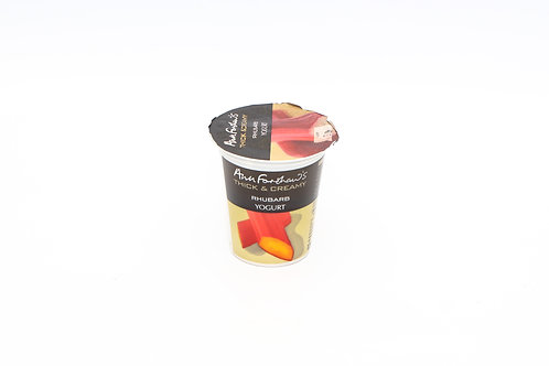 Rhubarb Yogurt 125g