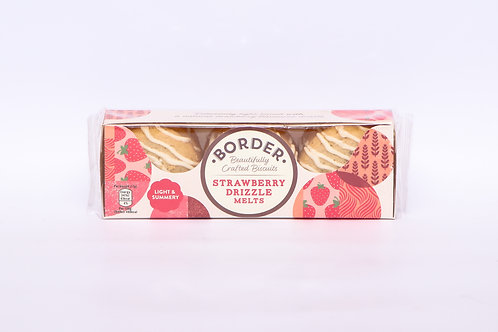 Border Strawberry Drizzle Melts