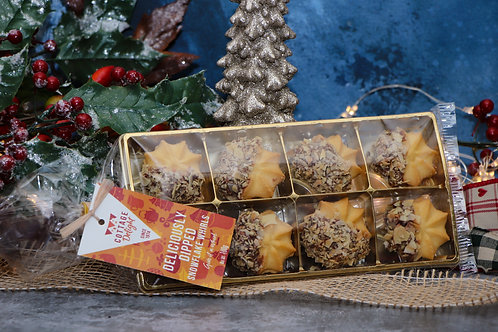 Cottage Delight Deliciously Dipped Snowflake Whirls