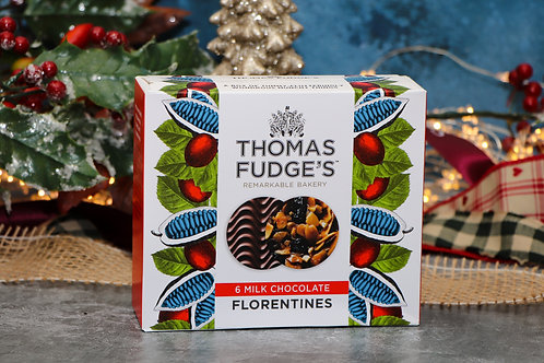 Thomas Fudge's Milk 6 Chocolate Florentines