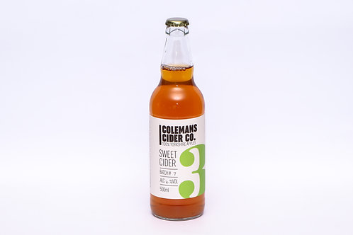 Colemans Yorkshire Sweet Cider 500ml