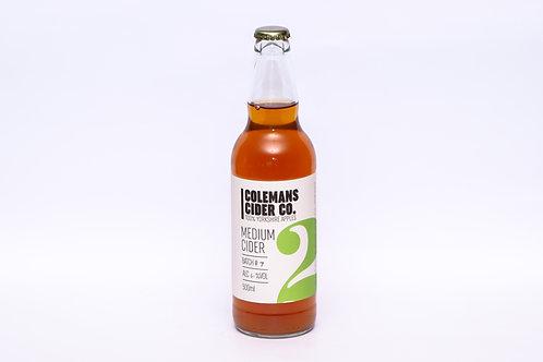 Colemans Yorkshire Medium Cider 500ml
