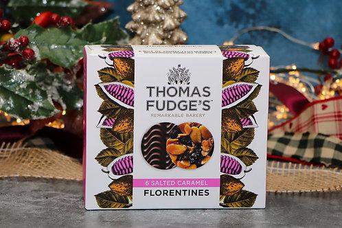 Thomas Fudge's 6 Salted Caramel Florentines