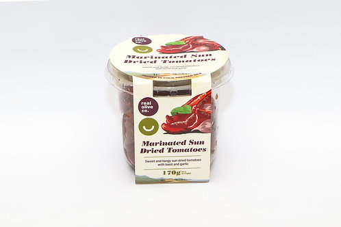 Real Olive Marinated Sun Dried Tomatoes