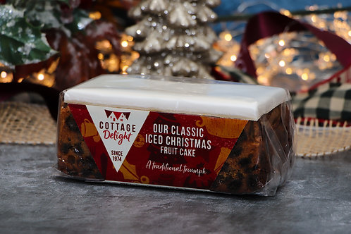 Cottage Delight Our Classic Iced Christmas Fruit Cake