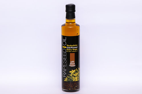 Yorkshire Rapeseed Oil with Black Pepper