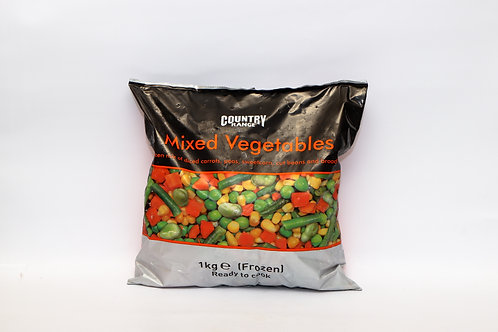 Country Range Mixed Vegetables 1kg