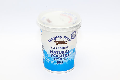 Natural Bio Yogurt Fat Free 450g