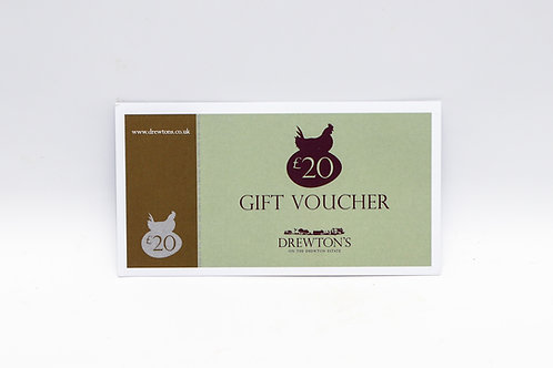 Drewton's £20 Gift Voucher