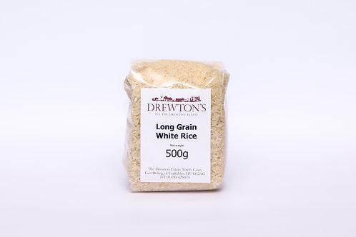 Drewton's Long Grain White Rice 500g
