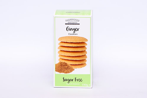 Sugar Free Farmhouse Biscuit Ginger Cookies