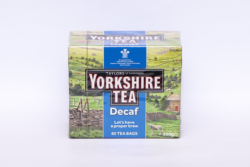 Yorkshire Tea Decaf 80's