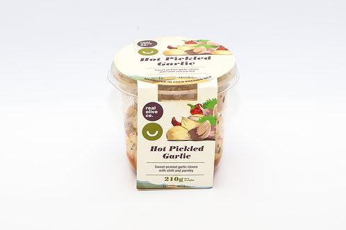 Real Olive Hot Pickled Garlic