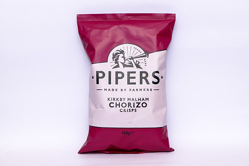 Pipers Kirby Malham Chorizo Crisps 150g