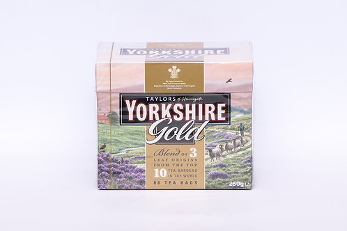 Yorkshire Gold Teabags 80's