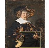 Ethics are very important in art conservation. Conservators strive to respect all cultural heritage, make informed decisions, use reversible materials, and document all of their work. By choosing non-fluorescent inpainting media, it is easy to see the difference between the original paint and the conservator's interventions in ultraviolet light. #BringBackJanHals #artconservation