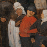"""On this overcast day, we're wishing we were celebrating with Bruegel's subjects in """"The Wedding Dance!"""" In the last two weeks, we have amassed a lot of useful information related to the creation of the painting and the ways in which it has changed over time. See it back on view tomorrow. #WheresTheBruegel #PieterBruegelTheElder #artconservation"""