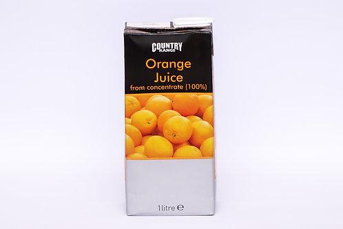 Country Range Orange Juice 1 litre
