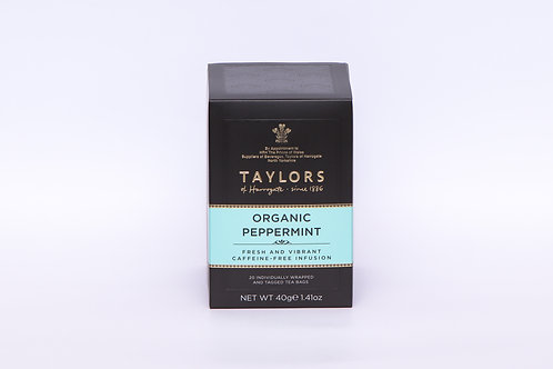 Taylors Organic Peppermint Teabags 20's